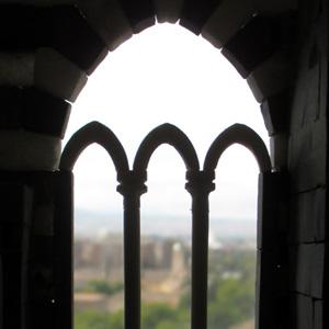 Domus project costruzione 202 finestre del piano nobile 3 colonne capitelli archetti - Finestra a tre aperture ...