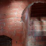 Costruzione 37 - Scala in mattoni 3 e chiusura della cisterna